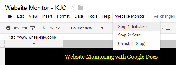 kjc - monitor website uptime #1