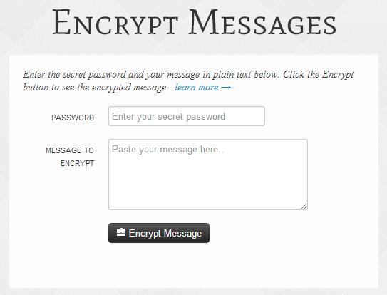 Encrypt Message